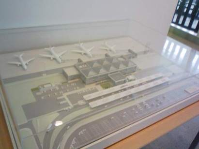 Maqueta del aeropuerto deKitakyushu