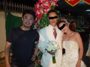 En una boda en Vietnam