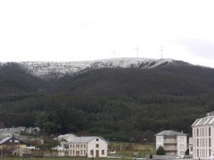 Primeras nieves en O Valadouro