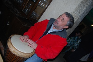 ...y timbal...