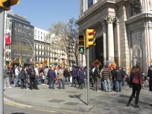 Manifestación Zara