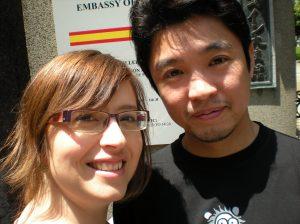 Hideo y Nuria