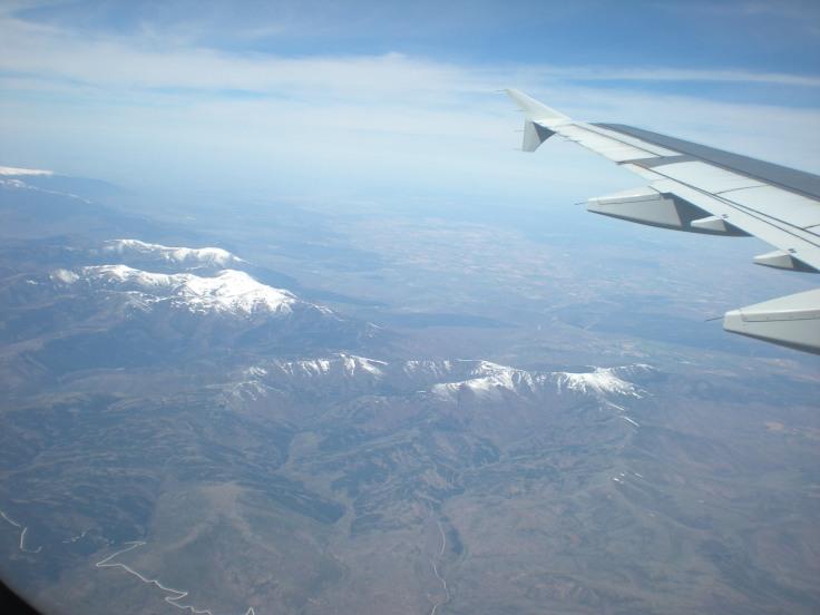 Resultat d'imatges de volando en avión fuera de España
