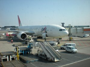Avión JAL