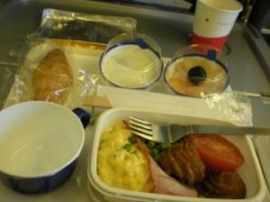JAL desayuno