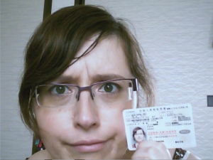 Con mi Alien Registration Card