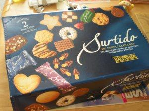 La caja de galletas