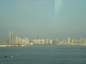 Pasando por Yokohama