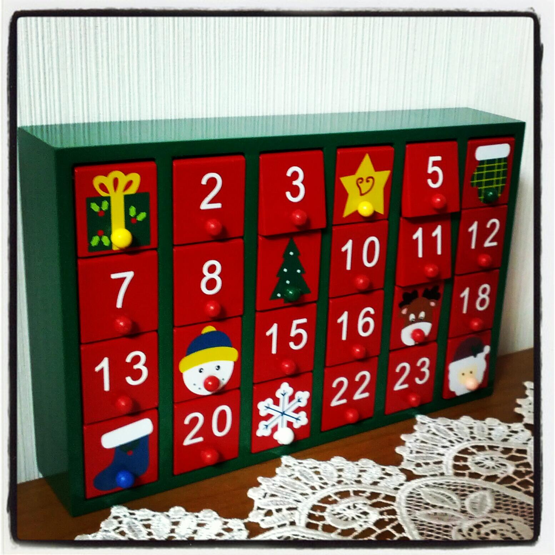 Navidad nihon mon amour - Calendario adviento madera ...