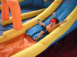En la fiesta infantil