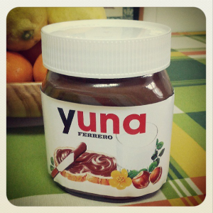 Nutella Yuna