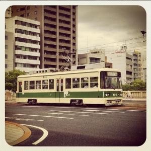 tranvia de hiroshima